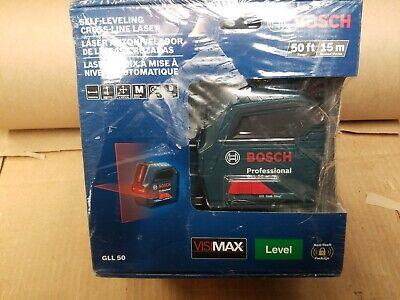 Bosch 50 ft. Self Leveling Cross Line Laser Level NEW