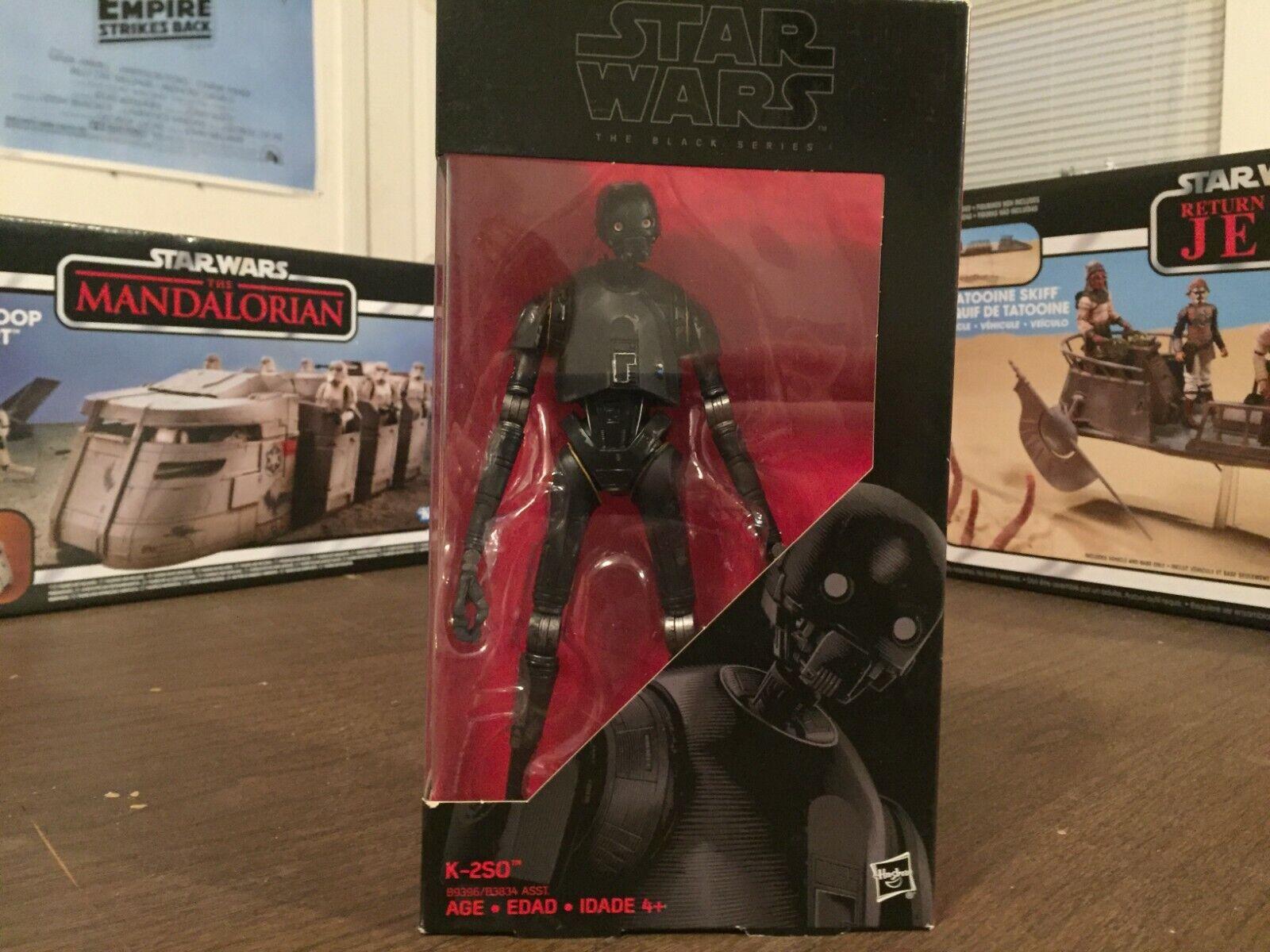 Hasbro Star Wars K-2SO Black Series 6 Inch Action Figure - $14.50