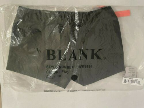 Blank NYC Vegan Leather Elastic Band Shorts - Girl