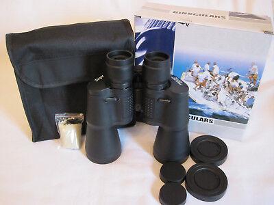 Fernglas 20x50 Feldstecher Jäger Jagdfernglas Fernrohr Binoculars mit Tasche NEU