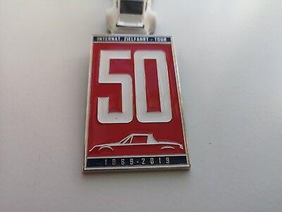 Porsche 914 grill badge emblem enamel badge Porsche fits all  17l18l20l