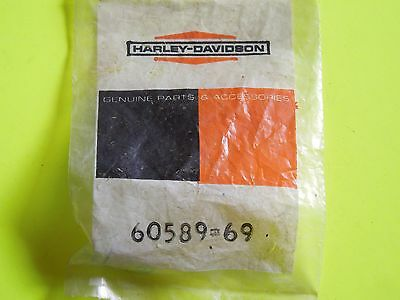 NOS OEM Harley Davidson Rear Chain Guard Mounting Stud P/N 60589-69