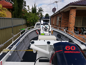 STESSL 4.8METRE FOR THE SERIOUS FISHERMAN ONLY... Casula Liverpool Area Preview