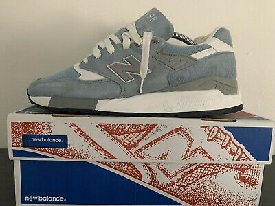 """New Balance M998LL """"Pool Blue"""" Size US 9/UK 8.5 Made In USA 990 991 992 993 997"""