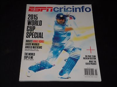 2015 Sports Illustrated Magazine 2015 Cricinfo World Cup Special   O 2223A
