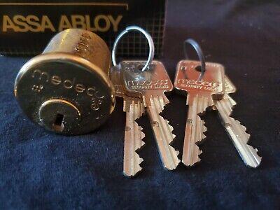 Medeco Mortise Cylinder 1 14 High Security Lock 4 Keys
