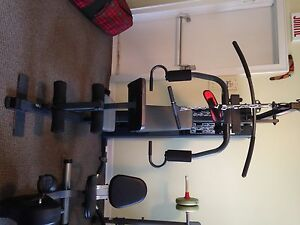 MARCY WEIGHT MACHINE & COMPETITOR BENCH