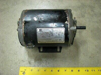 Emerson Electric Fan Blower Motor S55nxte-841 13hp 1725rpm 115 Volt Ac
