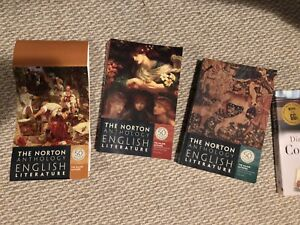 Norton Anthology of English Literature Major Authors edition