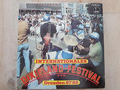 Internationales Dixieland Festival Dresden 87/88 - AMIGA 856384 - gewaschen - EX