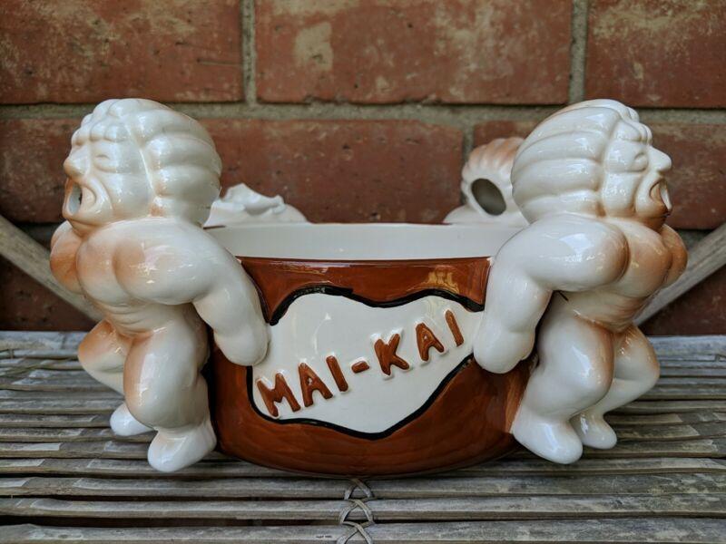 Mai Kai Mystery Bowl Tiki Mug Damaged Head