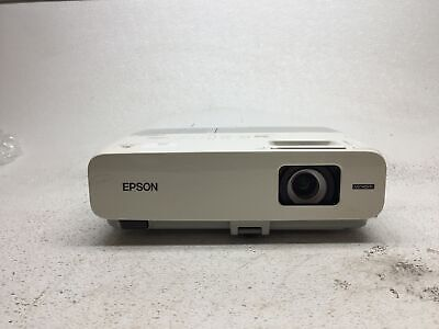 Epson PowerLite 826W H296A LCD Projector, Tested & Working, 1230 LP Hours, Fair