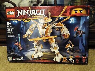Lego Ninjago Golden Mech 71702 Unopened Brand New