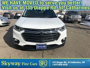 2019 Chevrolet Traverse LT True North AWD|LEATHER|PANO ROOF