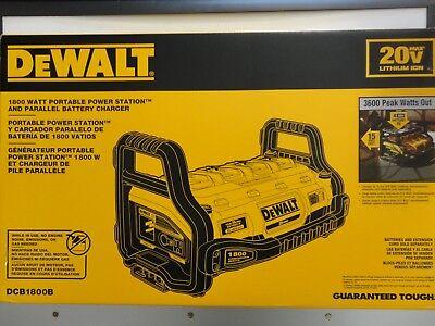 DEWALT DCB1800B Lightweight POWER STATION 1800W 20V MAX lithium Ion 2.0 AMP NEW NIP