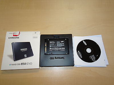 "Samsung V-NAND SSD 850 EVO 500GB 2.5"" Laptop Hard Drive MZ-75E500B/AM"