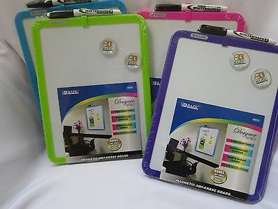 Magnetic Dry Erase Board Marker Two Magnets Purple Green Pink Or Blue Dorm