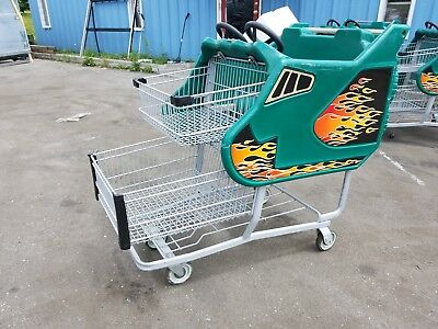 Supermarket Grocery Shopping Carts - Kid Cart Children Fun Race Car