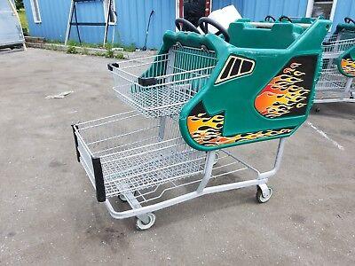 Supermarket Grocery Shopping Carts - Kid Cart Children Fun Race Car