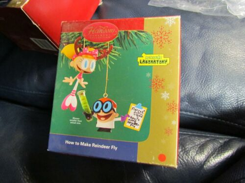 Heirloom Dexter Laboratory How To Make Reindeer Fly Ornament NEW