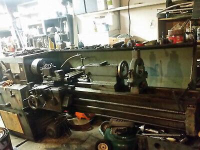 1825 Swing X 80 Center Afm Andychow Engine Lathe Metal Turning Machine