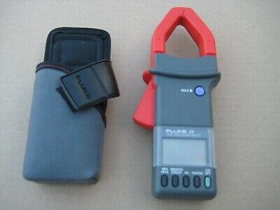 Fluke 33 True Rms Amp Clamp Meter Tool