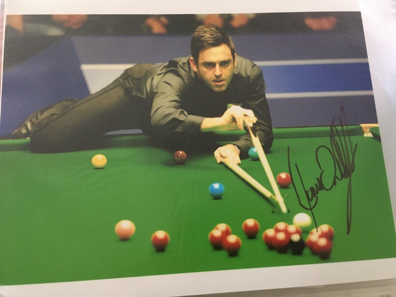 Ronnie O'Sullivan - Signed 10x8 Photo 2020 World Champion