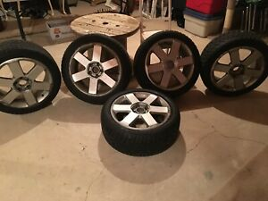 5x112 Audi/Volkswagen Rims w/ winter