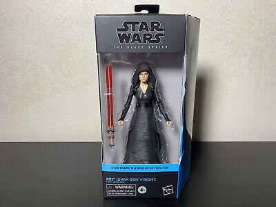 Star Wars Black Series REY Dark Side Vision Rise of Skywalker Hasbro Gold Hilt