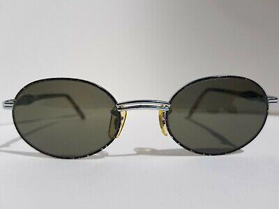 3cdac3cd3 Ray Ban Rituals Vintage Silver leopard Oval B&L Sunglasses W2544 rituals  grey si