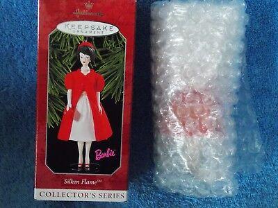 New Hallmark Barbie Doll Silken Flame Ornament