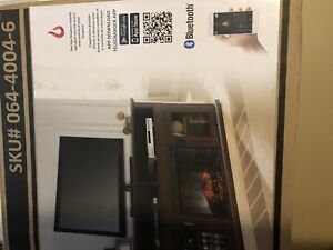 BRAND NEW   TV. STAND ONLY NO FIRE PLACE