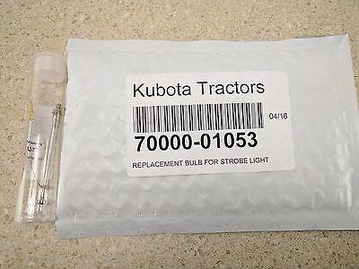 Kubota Tractor Strobe Light Bulb Replacement 70000-01053