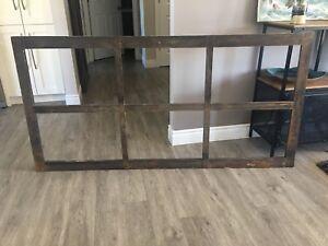 Antique/ Rustic wood frame