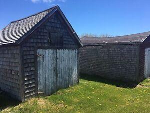 Old antique barns
