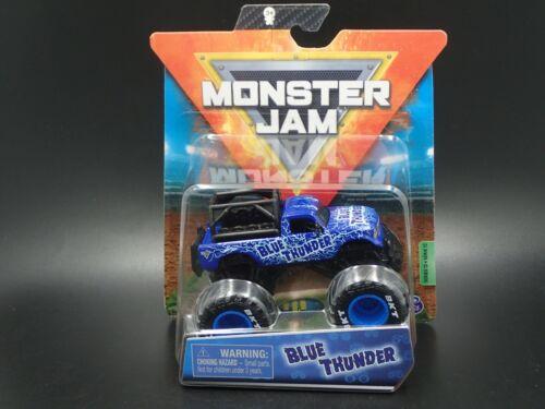 2020 SPIN MASTER MONSTER JAM MONSTER TRUCK MIX 12 BLUE THUNDER RIDE TRUCKS CHASE