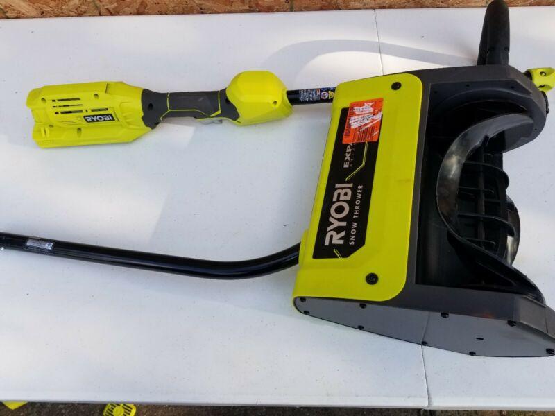 Ryobi Expand-It Snow Thrower Attachment Model RYSNW00 with RY40006 Power Head