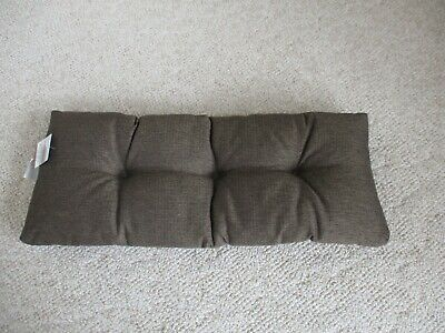 """Klear-Vu Non-Slip Bench Cushion - """"The Gripper"""", Tufted Padding"""