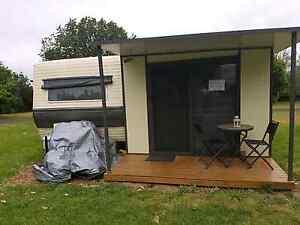 Caravan & Annexe. Camperdown Corangamite Area Preview