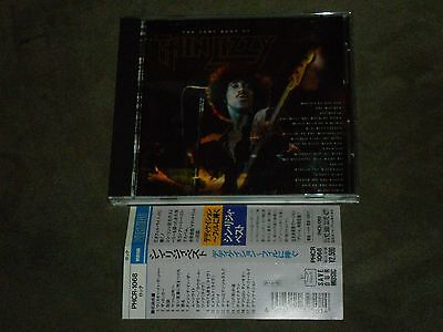 Thin Lizzy ‎Dedication - The Very Best Of Japan CD Gary
