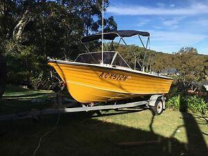Whiteline Fishing Ski Wake (not Haines Cruisecraft tinnie) Coal Point Lake Macquarie Area Preview