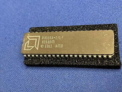 D8085a-2lf Amd D8085a Vintage 1983 40-pin Cerdip Collectible Rare