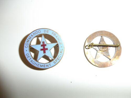 e4481 WW 2 Free French Commando De France Detachment Special IR18T8