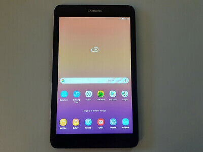 "Samsung Galaxy Tab A SM-T380 Tablet 8"" 16GB Android 8.1 Tablet SM-T380NZKIXAR"