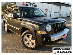 2010 Jeep Patriot Limited 4WD; Local BC vehicle!