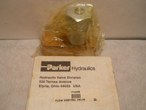"""Parker F-1600-B  Flow Control  1"""" NPT"""