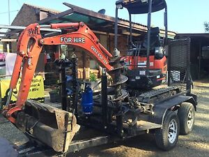 Excavator hire auger , Newcastle Newcastle Area Preview