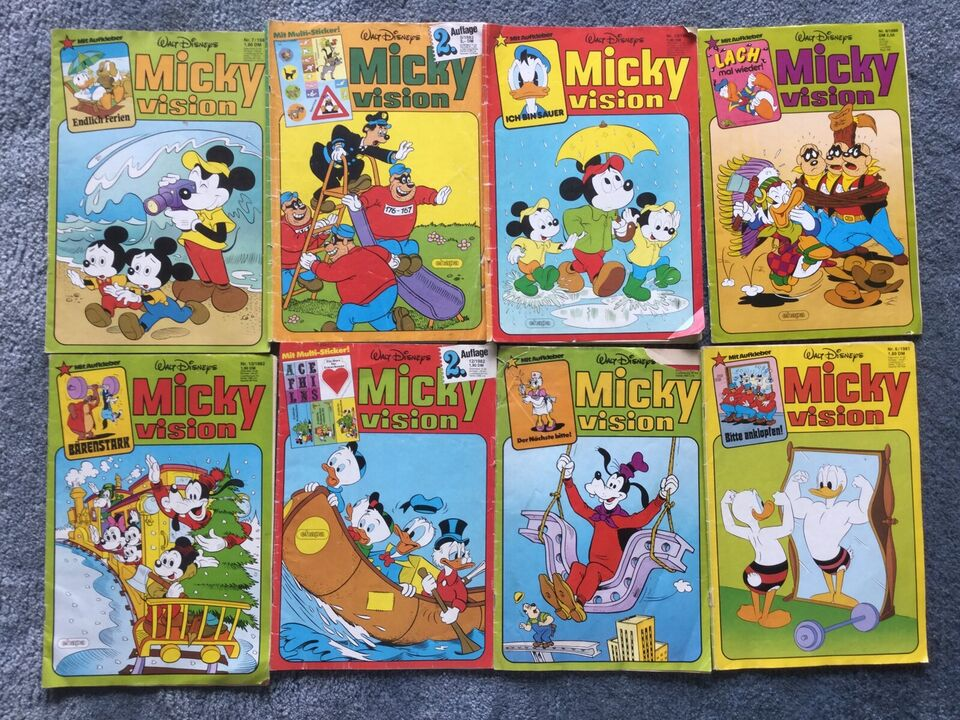Alte Comics Micky vision in Varel