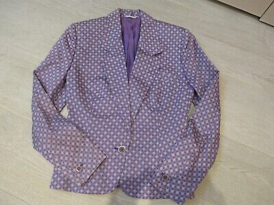 Vintage Gianni Versace Cotton Jacket - approx UK 8 (Italian Size 42)
