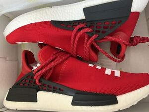 "a5a4940a555ad Adidas Pharrell Human Race ""scarlet Red"" NMD"